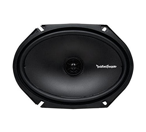 Rockford R168X2 Prime 6 x 8 Inches Full Range Coaxial Speaker, Set of 2 - Montego Flush