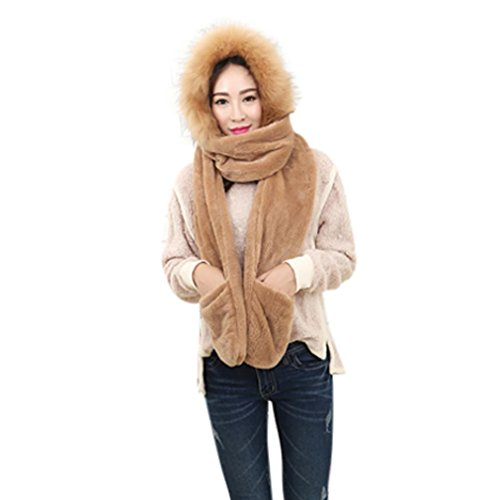 Christmas Gift, Egmy Warm Autumn And Winter Adult Hat Sca...