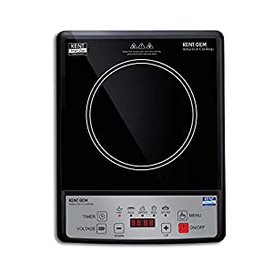 KENT GEM Induction Cooktop-16058, 1500 W, Black