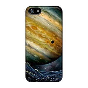 Awesome Dan Larkins Defender Tpu Hard Case Cover For Iphone 5/5s- Space Crater by Maris's Diary