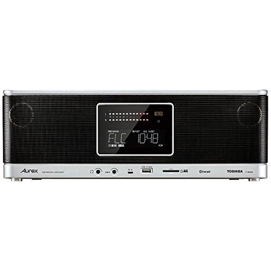 回転調停する穿孔する東芝 ハイレゾ対応Bluetooth/SD/USB/CDラジオ(ブラック)TOSHIBA Aurex TY-AH1(K)