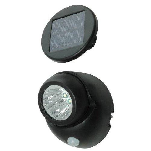 Price comparison product image Solar Power Security Spotlight with Motion Sensor,  100 Lumen