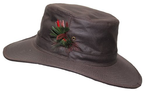 Image Unavailable. Image not available for. Colour  WWK Mens Aussie Sun Hat  Fishing Hunting Walking Shooting 100% Wax Cotton ... a8aa3e281020