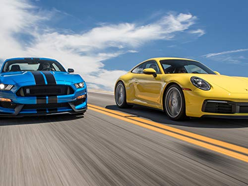 Ford Mustang Shelby GT350 vs. Porsche 911 Carrera S