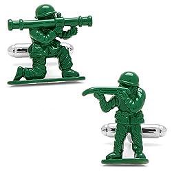 Cufflinks, Inc. Green Army Men Cufflinks