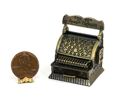 Used, Dollhouse Miniature Antique Cash Register for sale  Delivered anywhere in USA