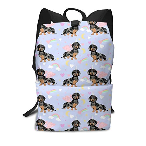 Backpack Dachshund Cute Pastel Dog Breed Purple Laptop for sale  Delivered anywhere in Canada