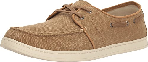 - TOMS Men's Culver Lace-Up Toffee Washed Canvas Oxford