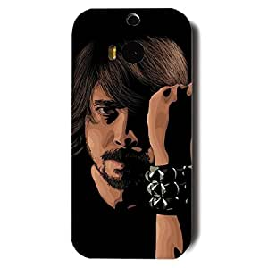 Foo Fighters Dave Eric Grohl Picture Phone Case 3D Hard Plastic Case Cover For Htc One M8