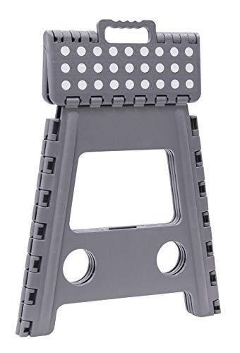 ARREGUI TB-039-G Tabouret Multi-Usage, Marchepied, 39 cm de Hauteur, Gris, 1