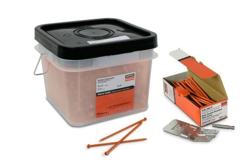 Simpson Strong Tie SDWC15450B-KT .152 x 4-1/2Inch SDWC Truss Screw with Bits and Guides Included