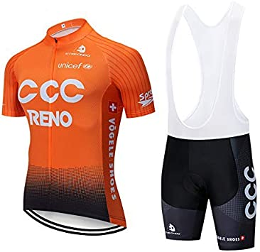 SUHINFE Maillot Ciclismo Hombre, Ropa Ciclismo y Culotte Ciclismo ...