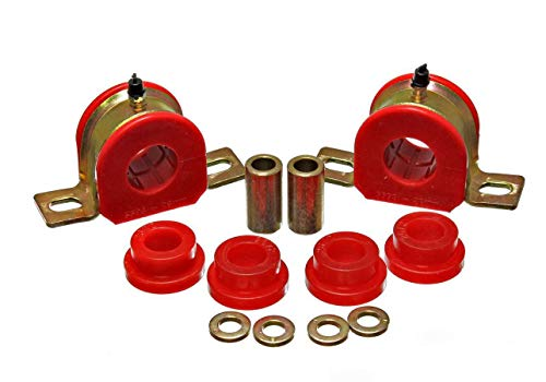 Energy Suspension00-06 Tahoe/Yukon/Denali 2Wd Red 28Mm Rear Sway Bar Bushing Set - Bar Rear Sway 28mm