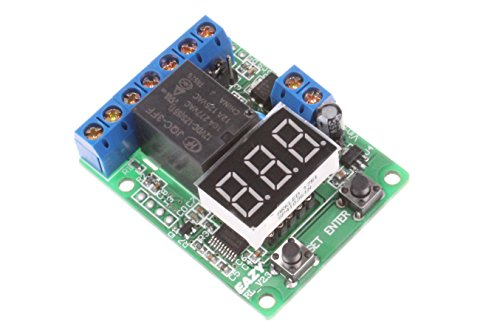NOYITO Voltage Relay Module Upper Lower Limit Detection Control Switch Off ON Over Voltage Protection Battery Charge Discharge Timing (12V)