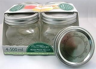 Bernardin Collection Elite Mason Jars - 500 mL - Swirls - Low (B002YFSW0Y) | Amazon price tracker / tracking, Amazon price history charts, Amazon price watches, Amazon price drop alerts