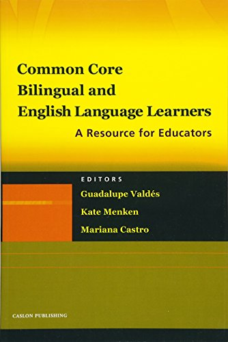 Common Core  Bilingual And English Language Learners  A Resource For Educators