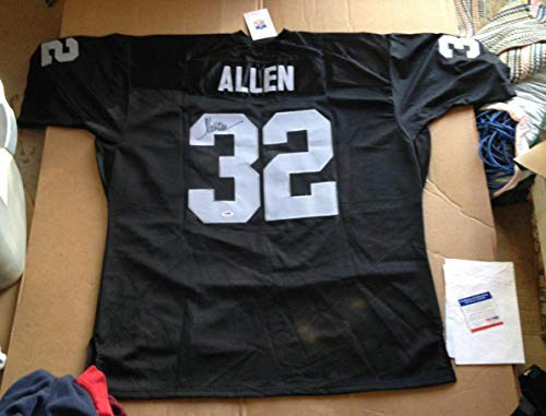Marcus Allen Autographed Jersey - Mitchell & Ness COA - PSA/DNA Certified - Autographed NFL Jerseys