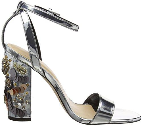Luciaa Sandali Aldo Donna alla Cinturino Silver Caviglia con Argento Ow1n51qd