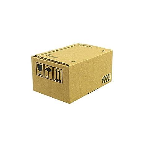 160 unidades Cajas de Cartón 213 x 153 x 109 mm con tiras adhesivas, dirección de campo aufr eiß hilos: Amazon.es: Oficina y papelería