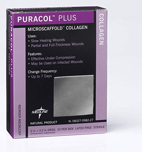 Puracol Plus Collagen Dressings 19.13S Case of 10
