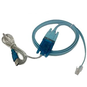 Amazon.com: HDE USB to Serial Interface Cable with Serial to RJ45 ...