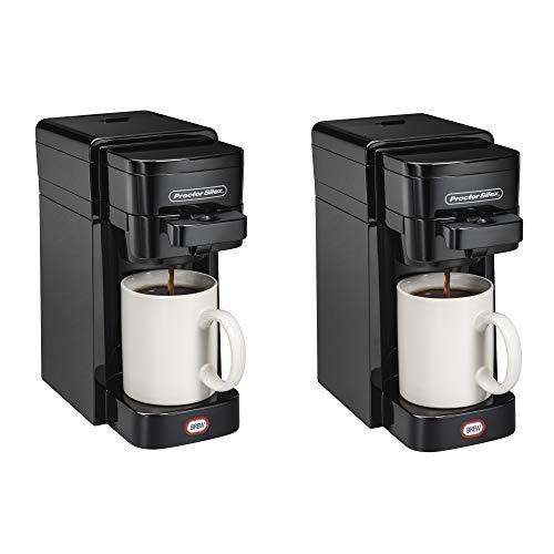 Proctor-Silex 49961 FlexBrew SingleServe Coffeemaker Ground & Single Serve Pod (2 Pack)