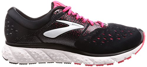 pink Chaussures Glycerin 070 black Femme Brooks 16 Running Multicolore De grey 84TE6Anq