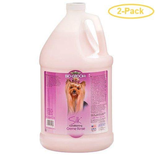 Bio-groom Silk Cream Rinse Conditioner 1 Gallon - Pack of 2
