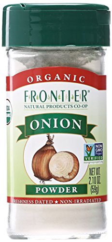 Frontier Onion Granules - Frontier Herb Organic White Onion Powder, 2.1 oz