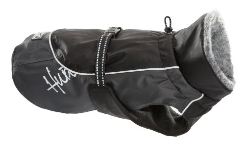Hurtta Pet Collection 12-Inch Winter Jacket, Black