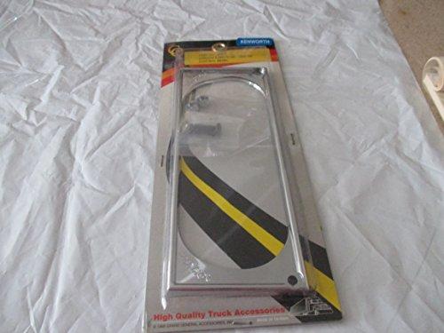 Heater Control Bezel - Grand General #68377 Chrome Plastic Ac/Heater Control Bezel Kenworth 2003