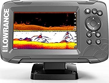 Lowrance HOOK2 5 – 5-inch Fish Finder with SplitShot Transducer and US Inland Lake Maps Installed
