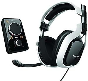 ASTRO Gaming A40 - Auriculares con micrófono (control de volumen), blanco