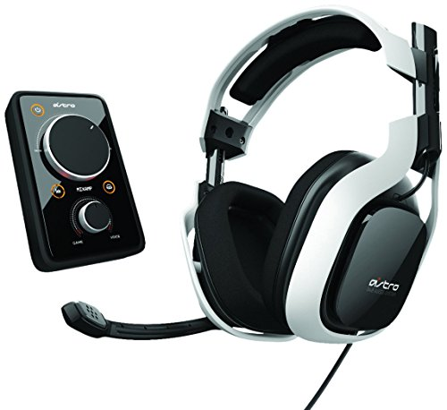 Astro A40 + MixAmp Pro - White 7.1 Channel  Headset