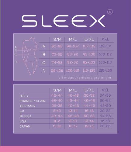Sottoveste con Black convertibili control modellante spalline SLEEX super regolabili Nero e wqdIHA