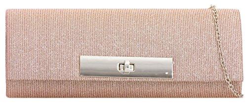 Material Sintético Girly De Handbags Rosa Mujer Mano Cartera Para q44IwX
