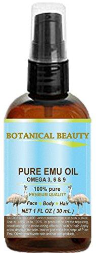 PURE EMU OIL. 100% Pure / PREMIUM QUALITY. for FACE, BODY, H