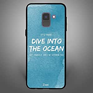 Samsung Galaxy A8 Plus Dive into the Ocean