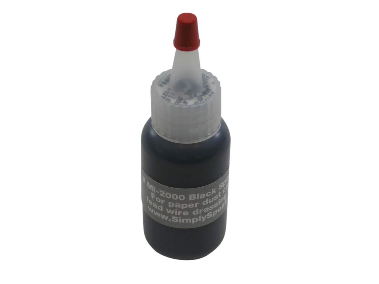 Speaker Repair Adhesive, Dust Cap, Leadwire Dress, Black, MI-2000