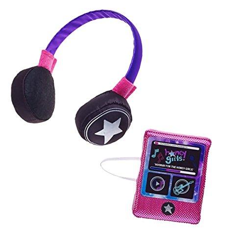 Build A Bear Workshop Honey Girls Plush MP3 Player 2 pc.