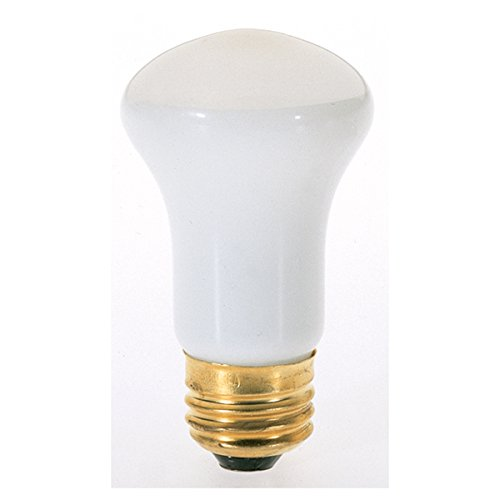 Satco 40R16 Incandescent Reflector, 40W E26 R16, Frosted Bulb [Pack of 12]