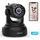 ieGeek [NEW UPDATE] 1080 IP Camera WiFi Home Security Surveillance Indoor CCTV Camera with HD Night Vision/Two-way Audio/Motion Detection Pan/Tilt Wireless Camera for Baby/Elder/Pet Monitor