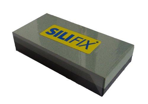 Siliciumcarbid Schleifstein Abziehstein SiliFix/® kombiniert von Zische FEPA K/örnung 320//120-100 x 50 x 20mm