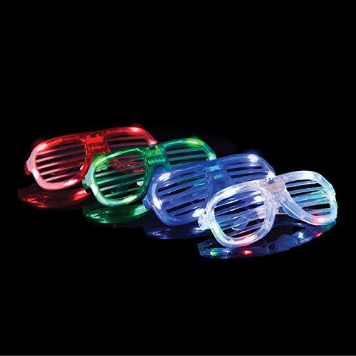649ec9c1193 Glow in The Dark LED Glasses – Bulk Light Up Glasses