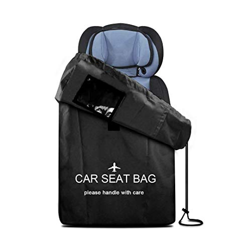 loofeng Universal Car Seat Bag Shoulder Padding Strollers Boosters Infant Carriers Pushchairs Wheelchairs Cover Protector for Travel ()