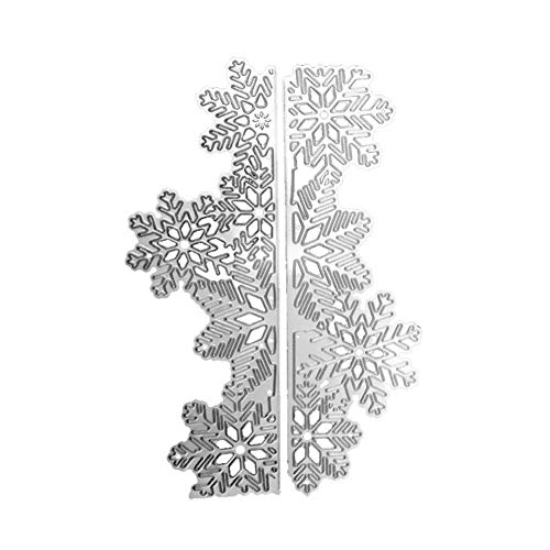 Cutting Dies StarALL Metal Snow Mountain Design Cutting Dies Stencils Stamps for Scrapbooking Paper Card DIY Making