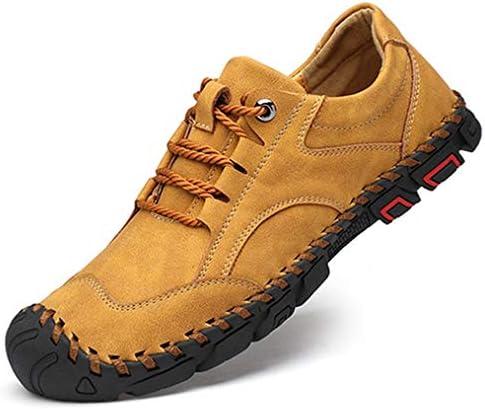 トレッキングシューズ メンズ ローファーカーキ アウトドア 紳士靴 レースアップ ローカット スニーカー 登山靴 おしゃれ 合成革靴 カジュアルシューズ おしゃれ 春 夏 ウォーキングシューズ ハイキング