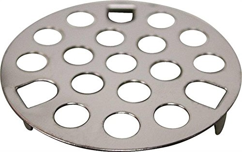 """Mountain Bathroom Tub (Rocky Mountain Goods Shower and Tub Drain Strainer - 1 5/8"""" - Helps keep drains from being clogged - Simply drop in and snap in installation - Keeps hair from going down drain - Stainless steel)"""