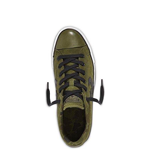 Converse Lifestyle Cons El Distrito Ox Cotton, Scarpe da Fitness Unisex-Adulto Blu (Hyper Royal/White/Black 483)