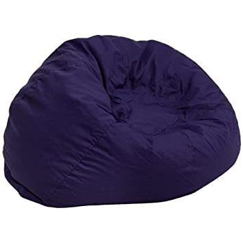 Awesome Amazon.com: Flash Furniture Oversized Lavender Dot Bean Bag Chair: Kitchen  U0026 Dining